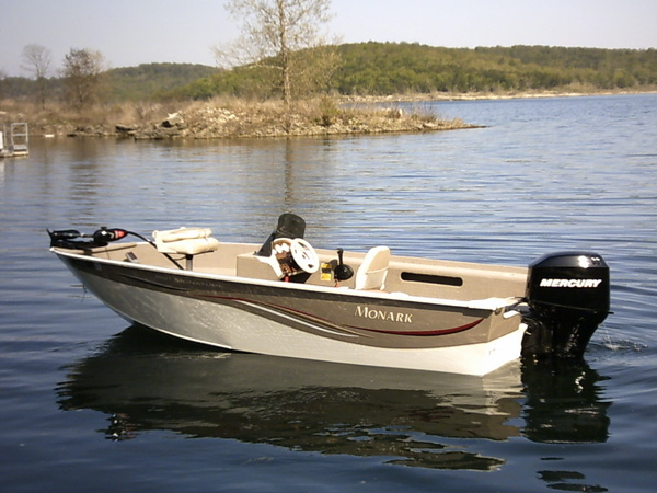 Packages specials in cotter arkansas for Monark fishing boats